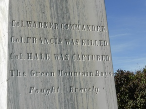 More text on the monument.